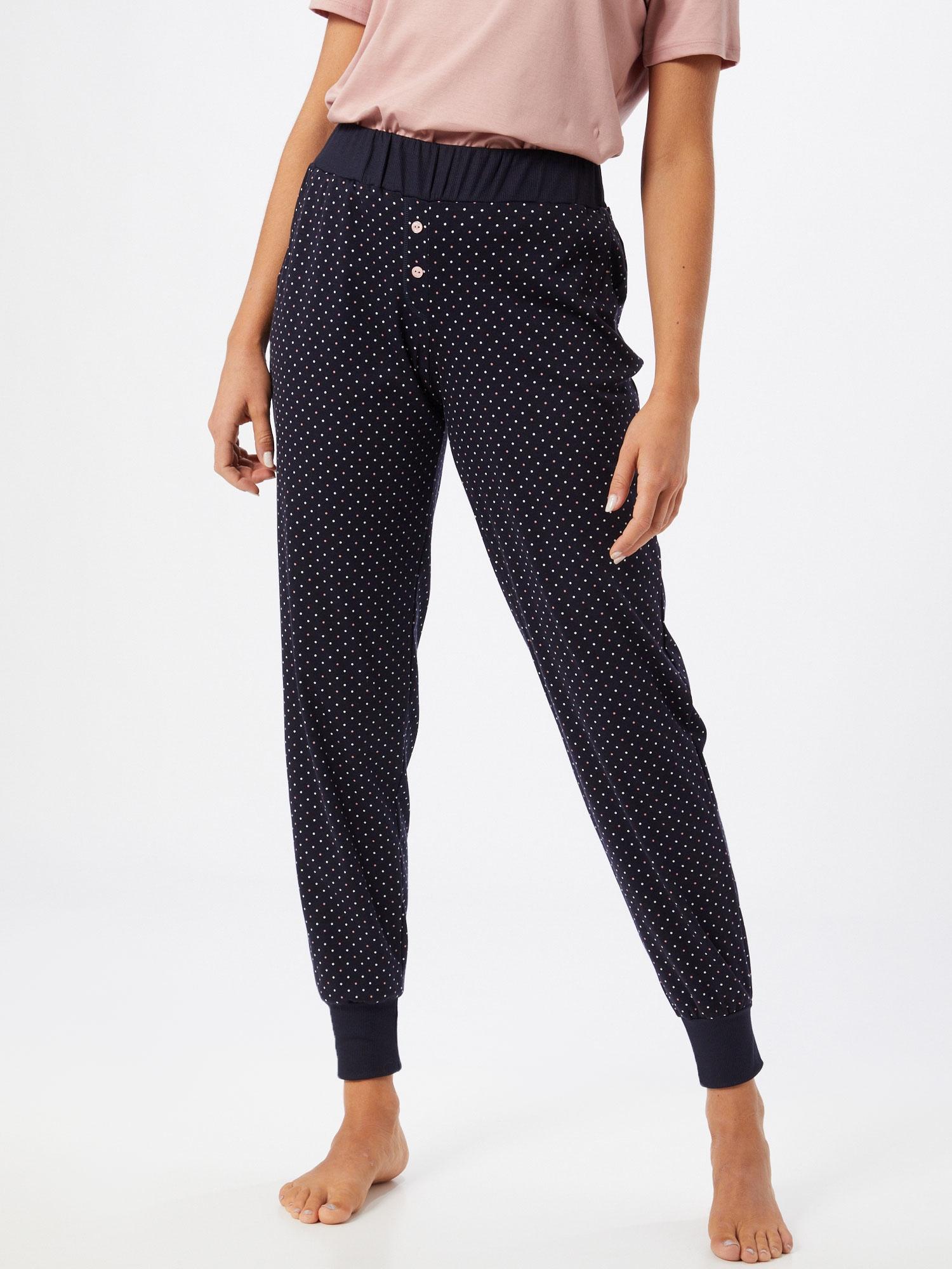 CALIDA Pantalon de pyjama  bleu foncé / rose / blancAbout You FR