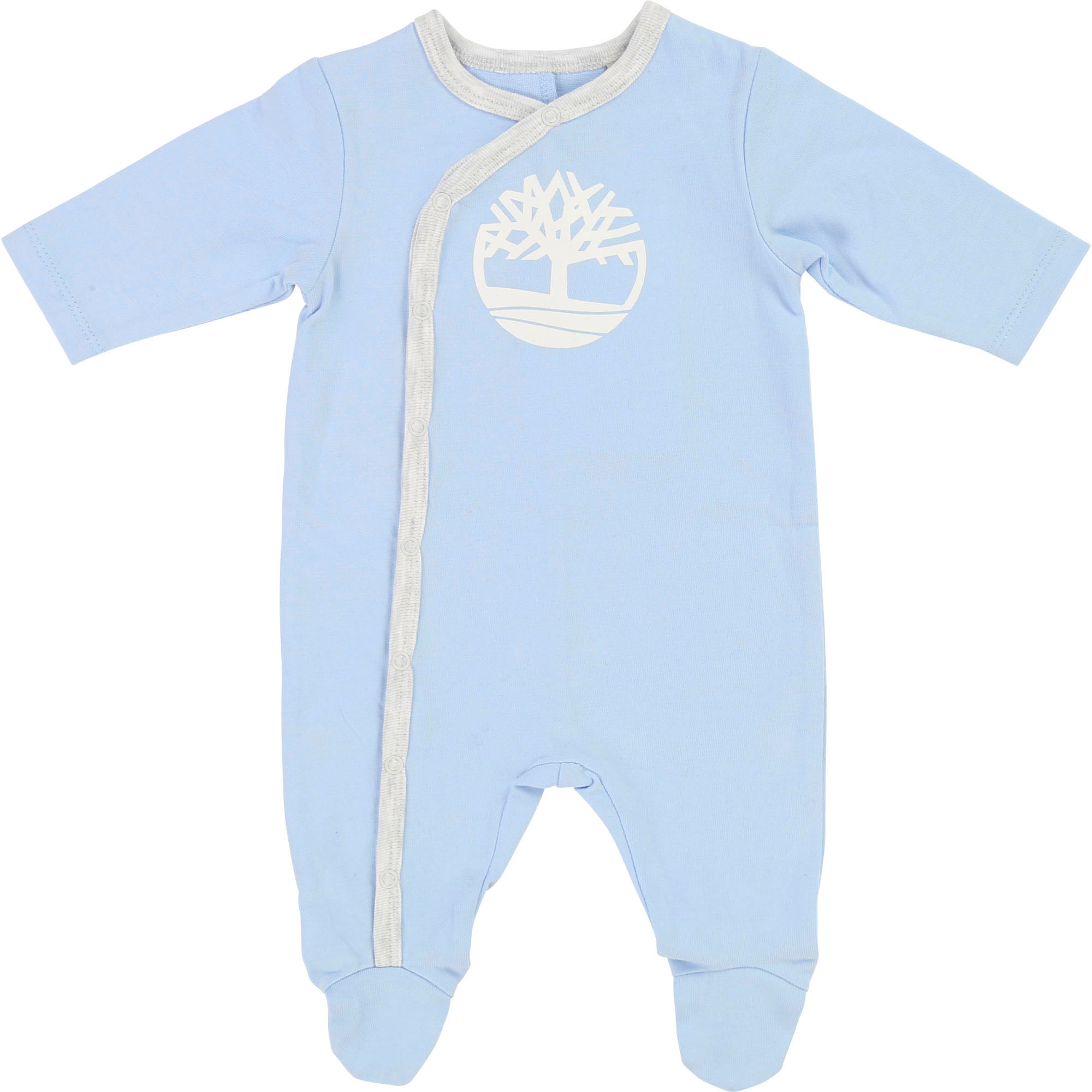 Pyjama 1 pièce en jersey coton TIMBERLAND BEBE COUCHE GARCON Bleu