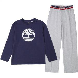 Pyjama en coton biologique TIMBERLAND ENFANT GARCON Bleu