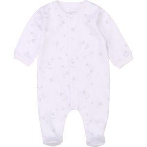 Pyjama en coton interlock CARREMENT BEAU BEBE COUCHE GARCON Blanc