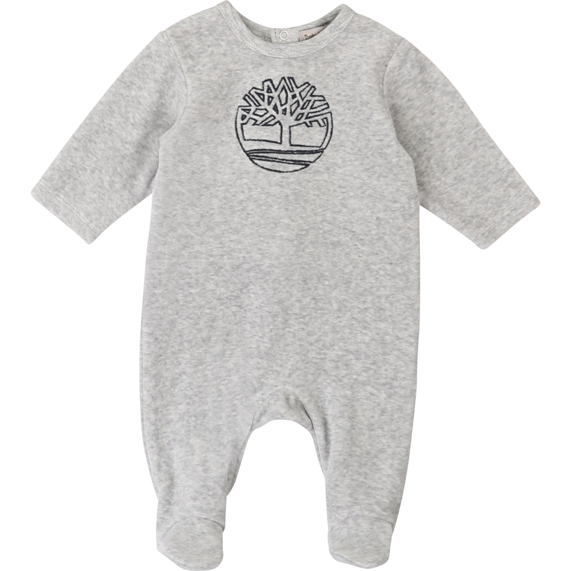 Pyjama velours en coton bio TIMBERLAND BEBE COUCHE GARCON Indéterminé