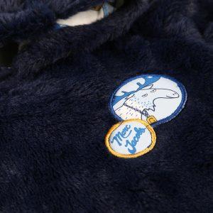 Surpyjama fourrure synthétique THE MARC JACOBS BEBE COUCHE UNISEXE Bleu