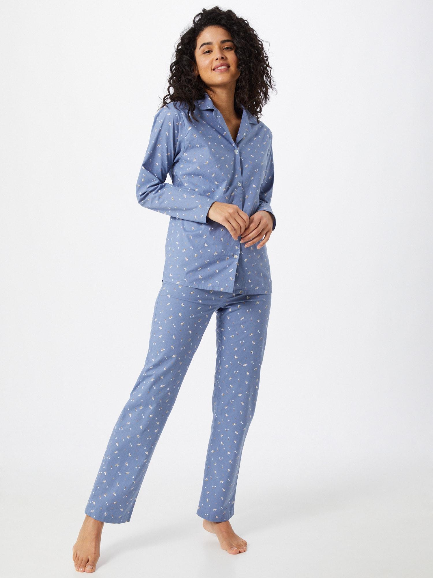 BeckSöndergaard Pyjama  bleu fumé / blancAbout You FR