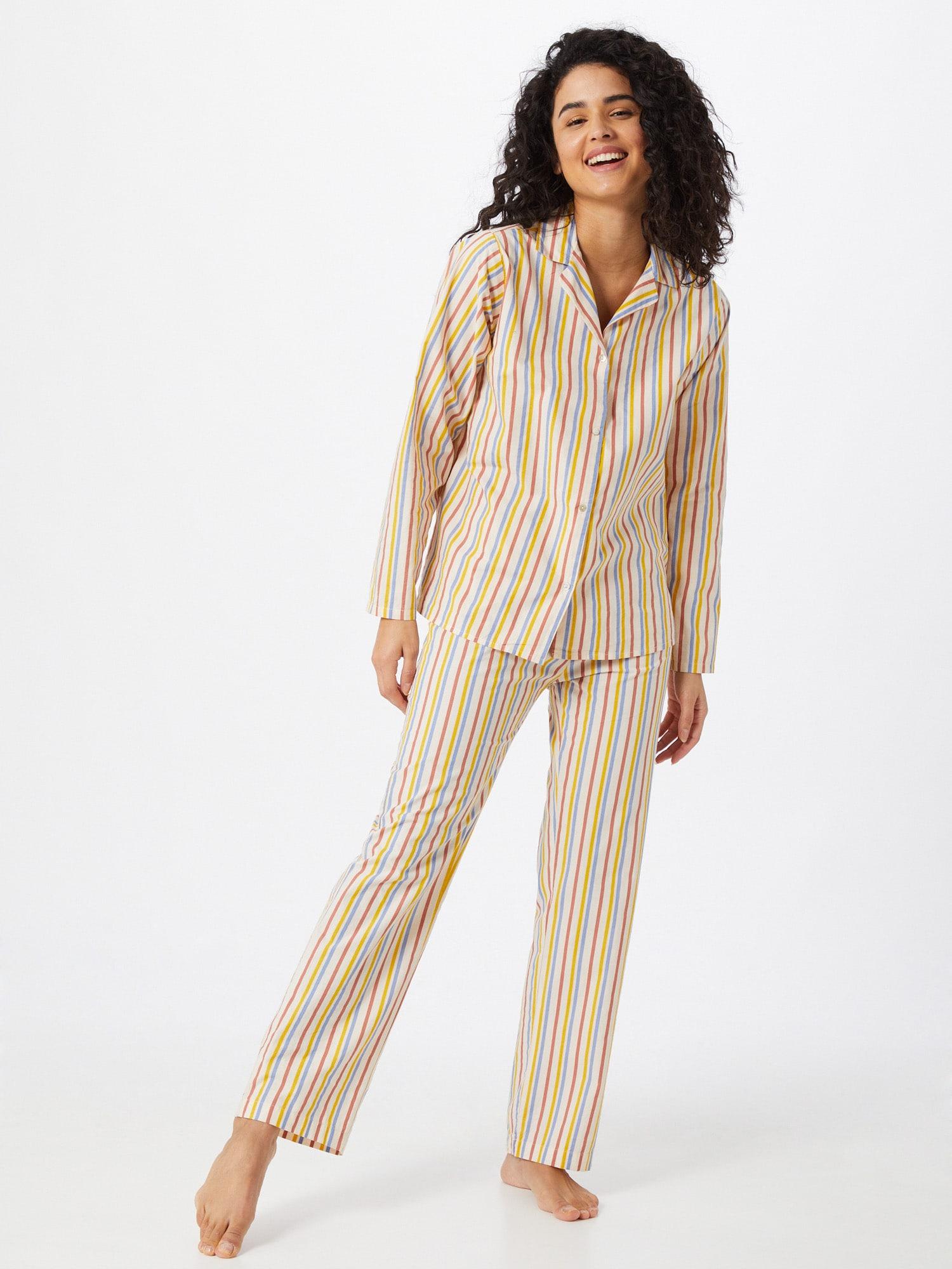 BeckSöndergaard Pyjama  mélange de couleurs / beige clairAbout You FR