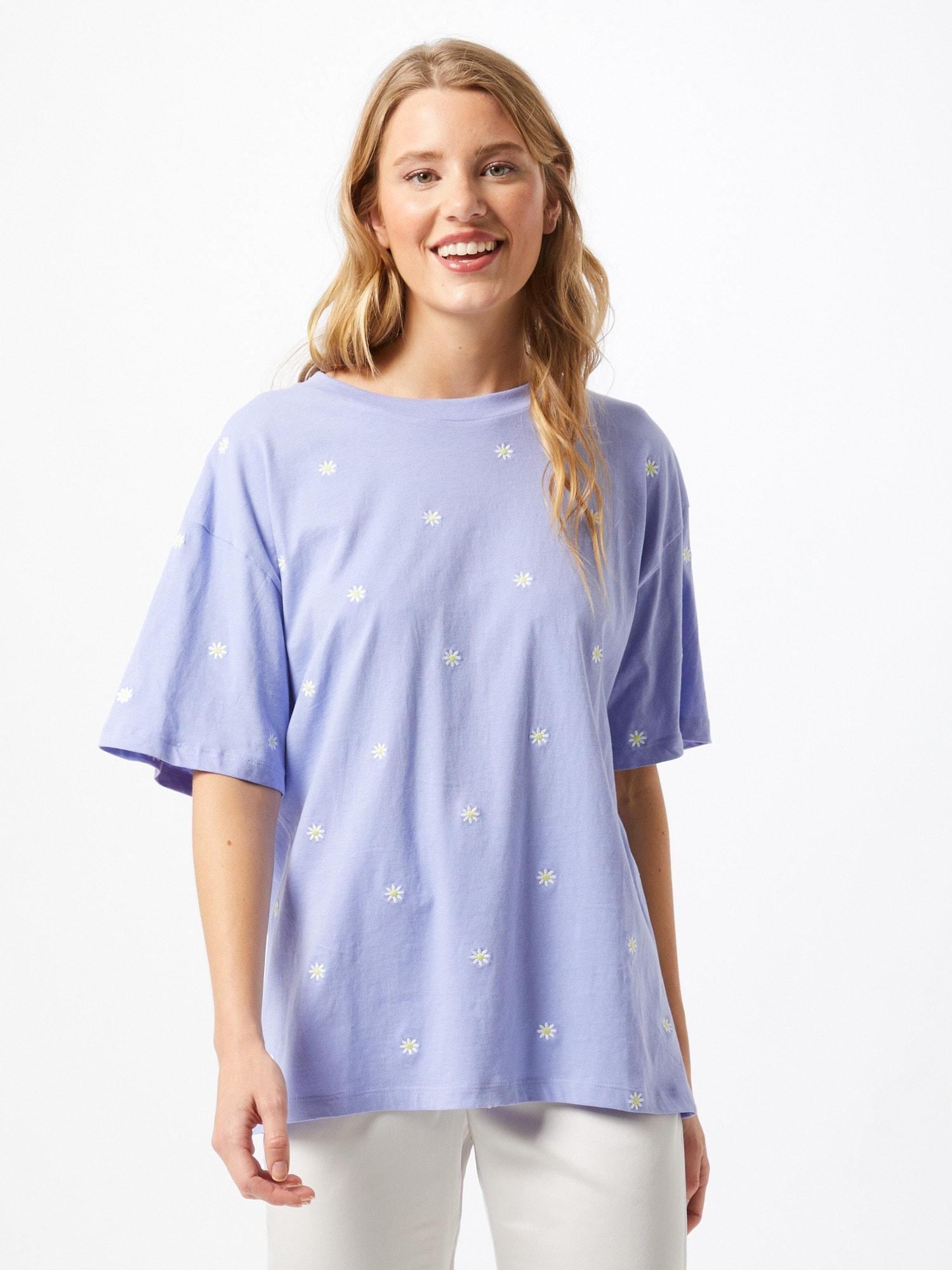 Cotton On Chemise de nuit '90's'  bleu clair / blancAbout You FR