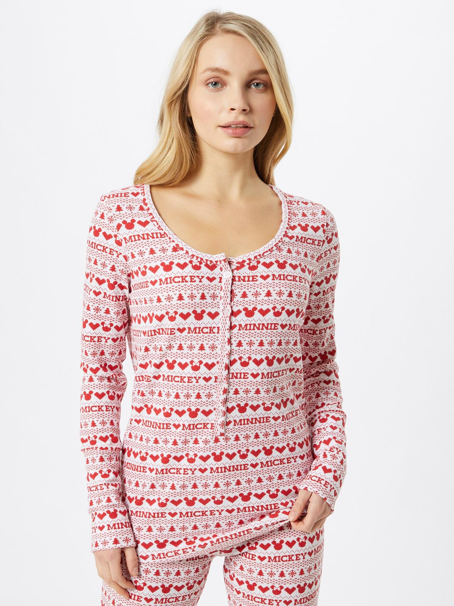 Cotton On Chemise de nuit  rouge / blancAbout You FR