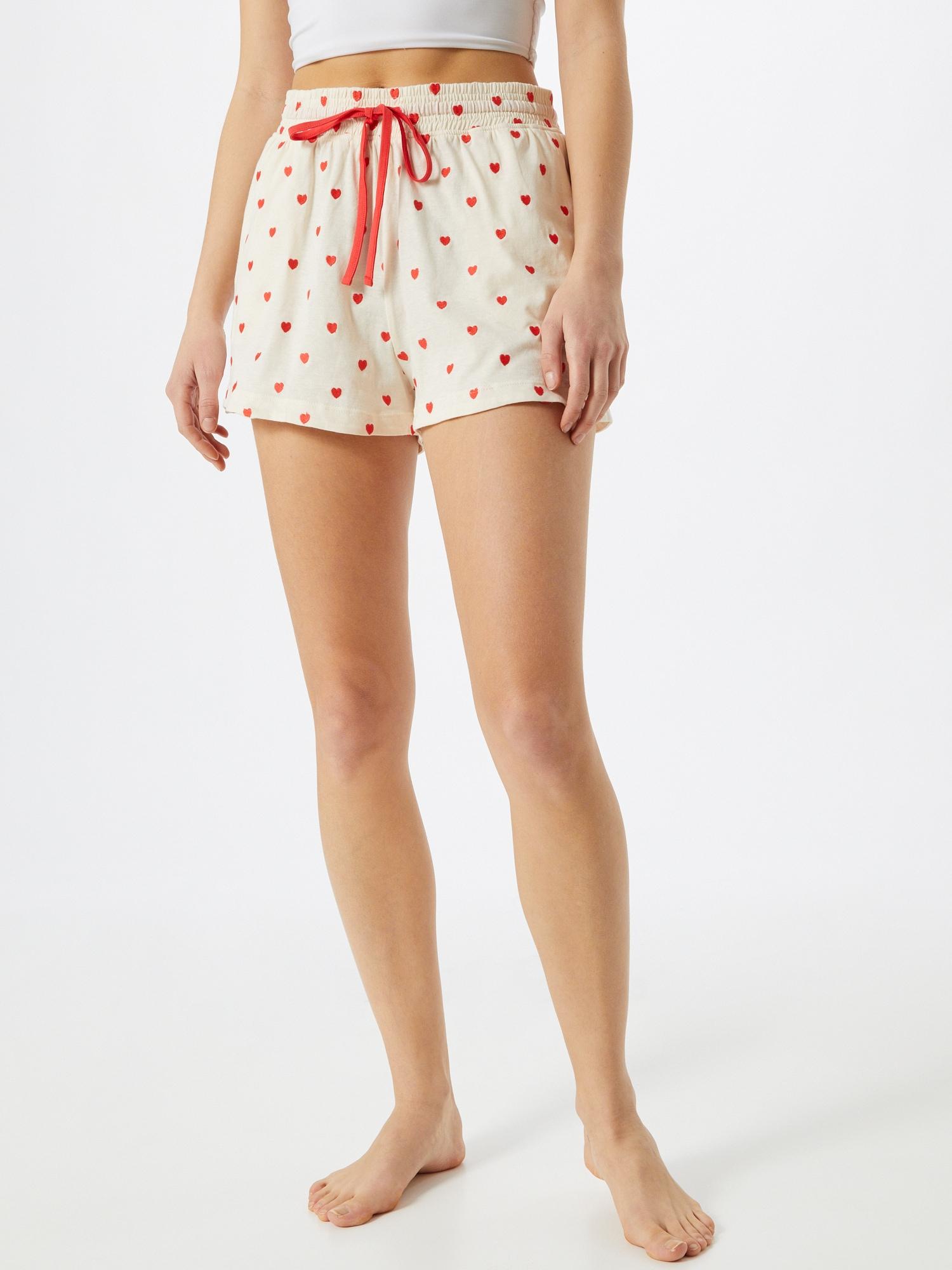 Cotton On Pantalon de pyjama  beige / rouge clairAbout You FR