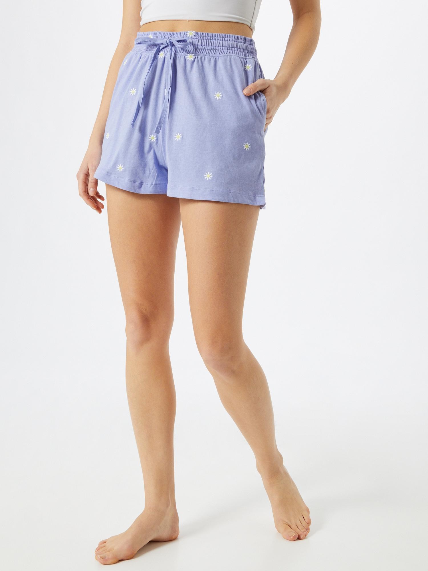 Cotton On Pantalon de pyjama  bleu clair / blanc / jaune clairAbout You FR