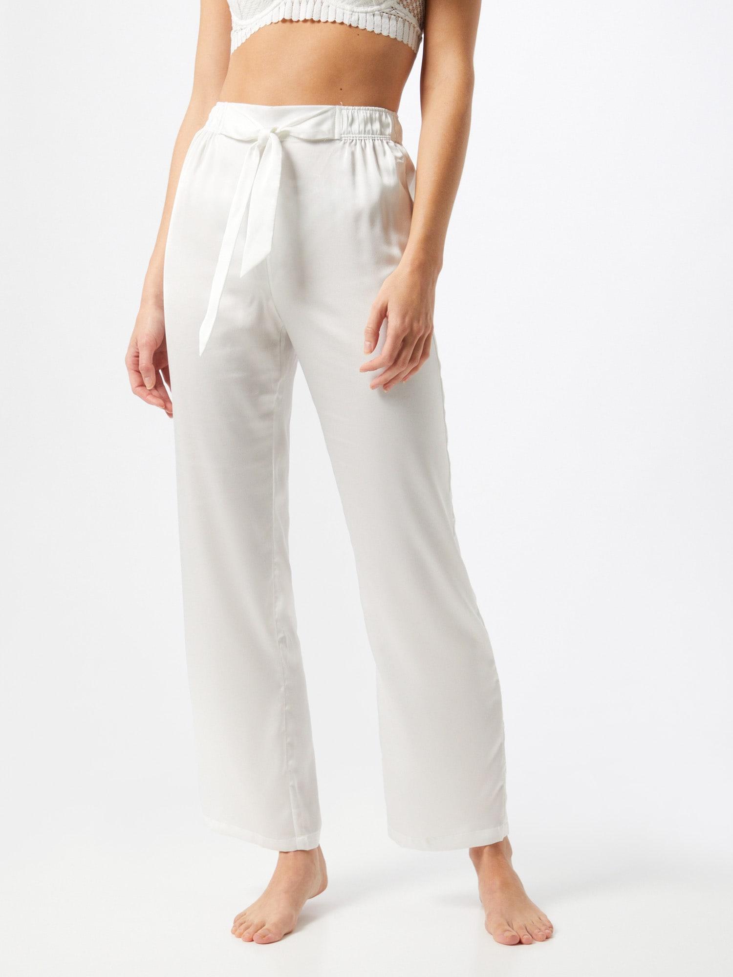 ETAM Pantalon de pyjama 'KATE'  blancAbout You FR