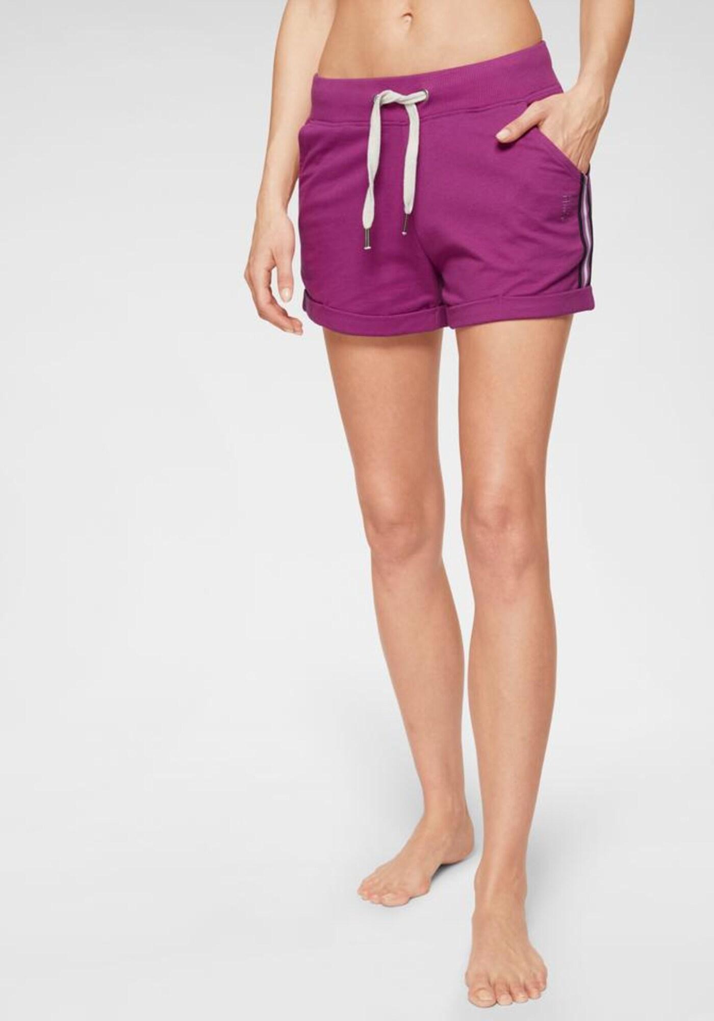 HIS JEANS Pantalon de pyjama  violet / noir / blancAbout You FR