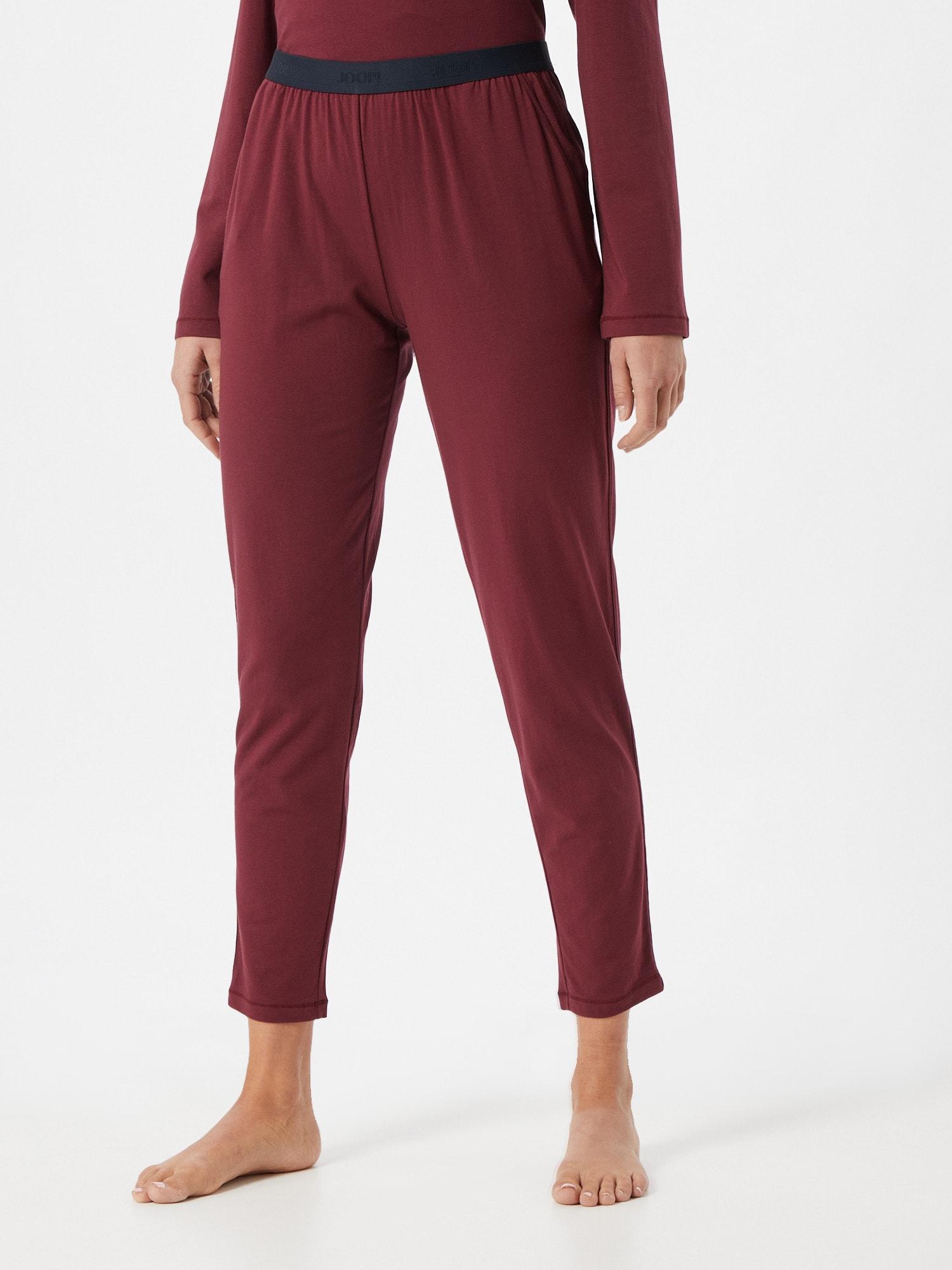 JOOP! Bodywear Pantalon de pyjama  lie de vin / bleu marineAbout You FR