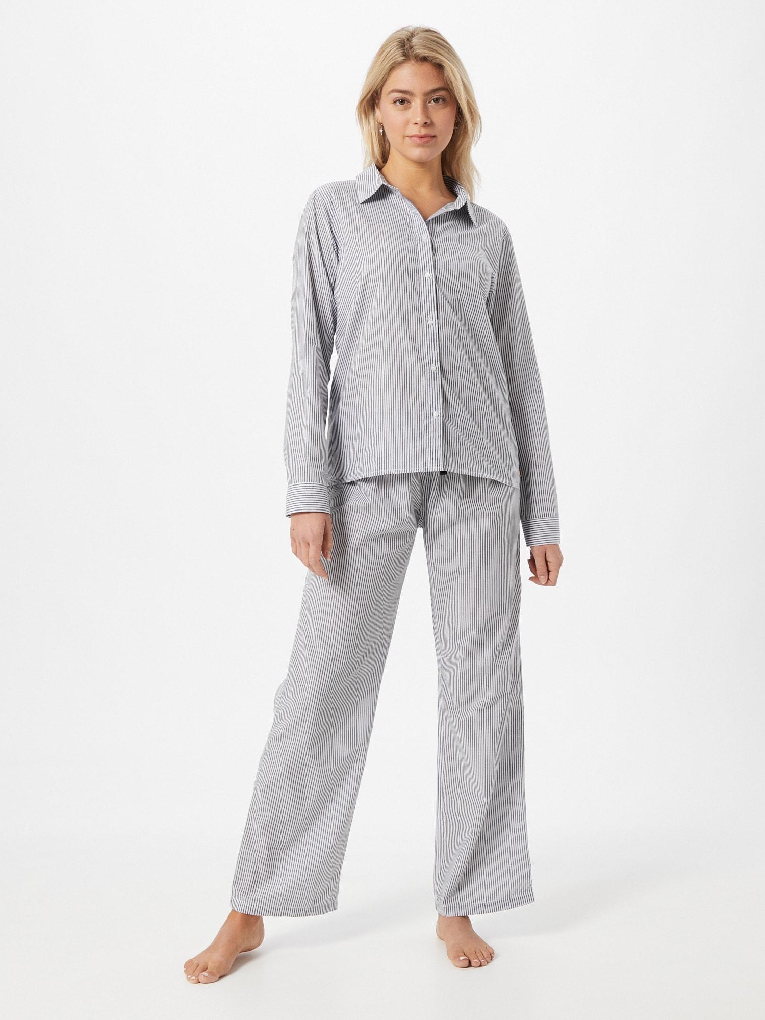 JOOP! Bodywear Pyjama  blanc / bleuAbout You FR