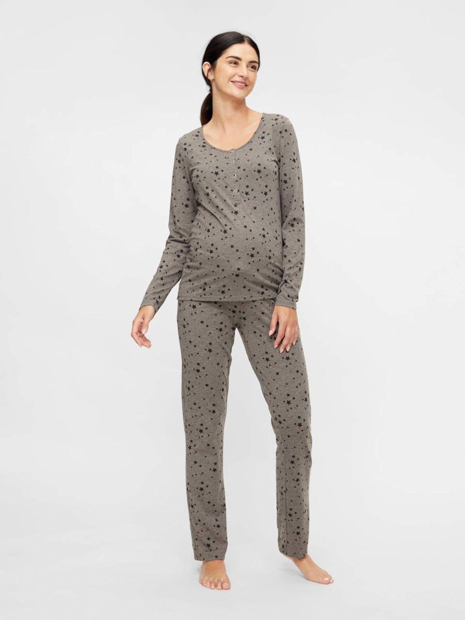 MAMALICIOUS Pyjama  gris / noirAbout You FR