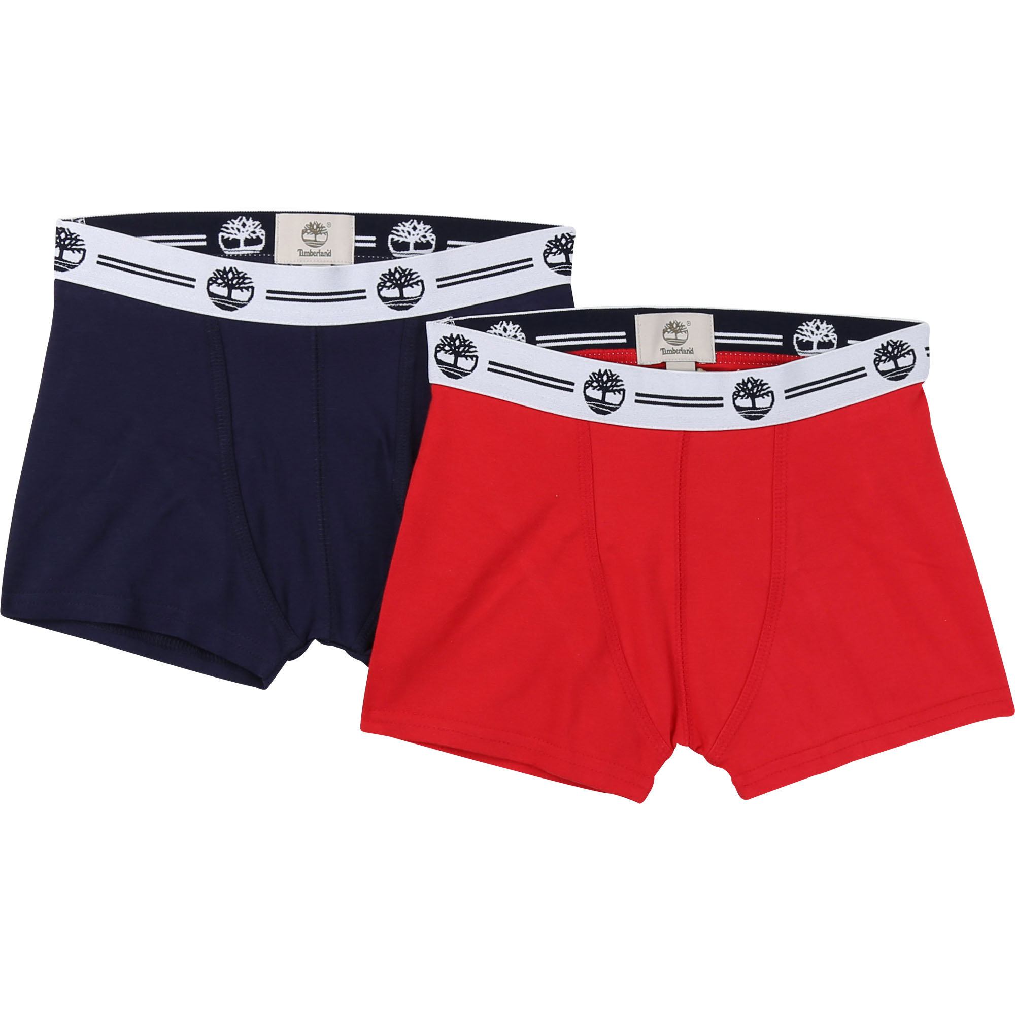 Lot de 2 boxers en jersey TIMBERLAND ENFANT GARCON Rouge