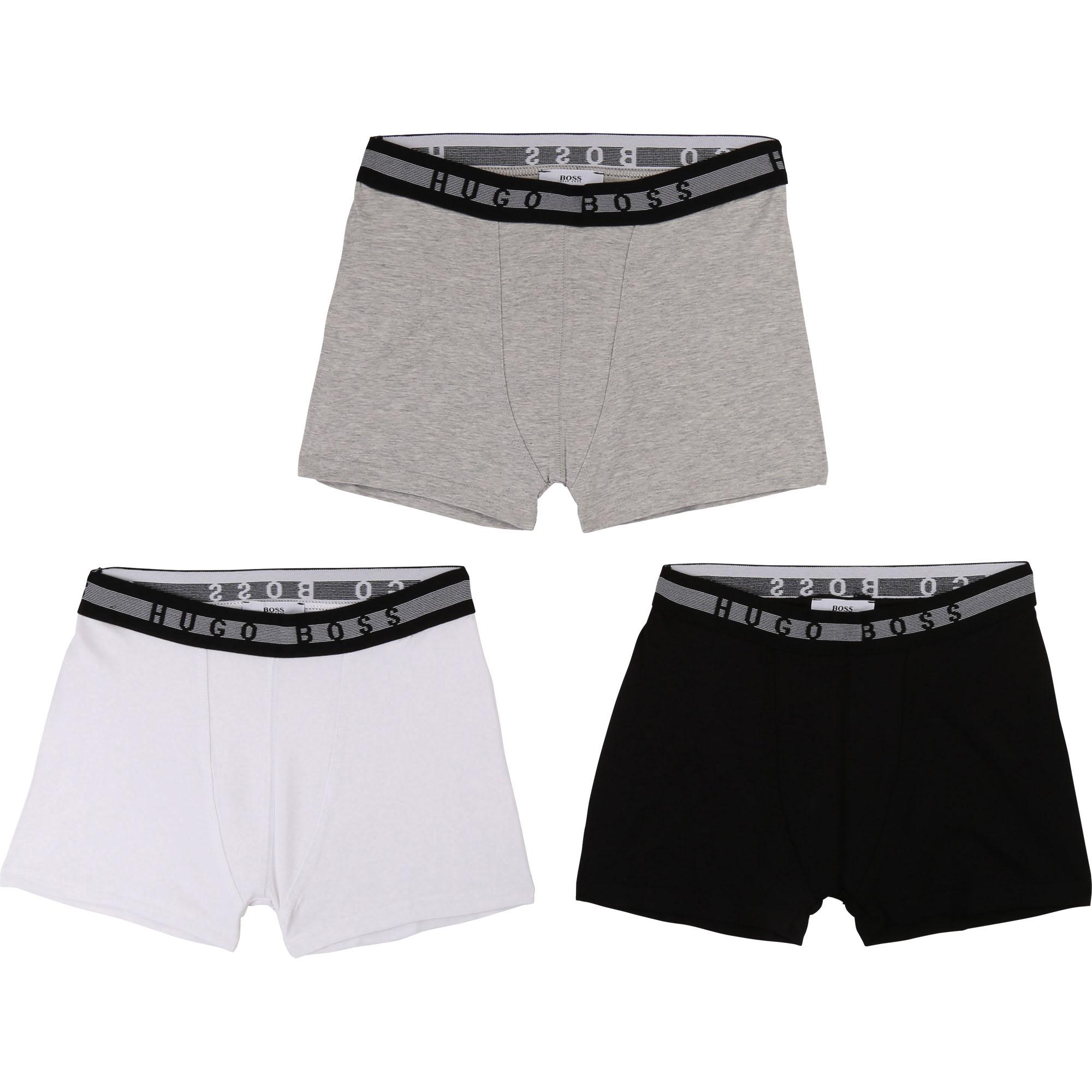 Lot de 3 boxers jersey coton BOSS ENFANT GARCON