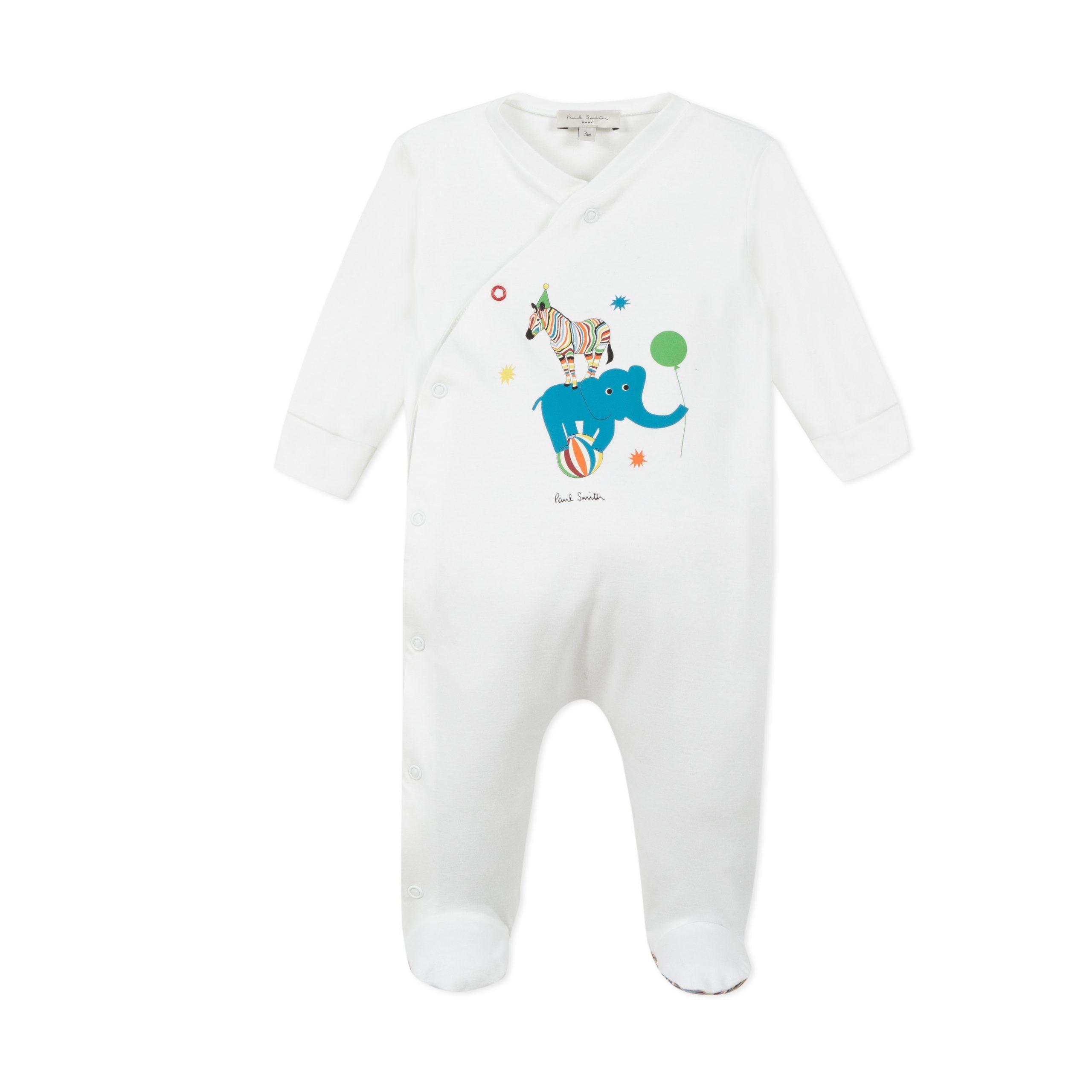 Pyjama PAUL SMITH LAYETTE GARCON Blanc